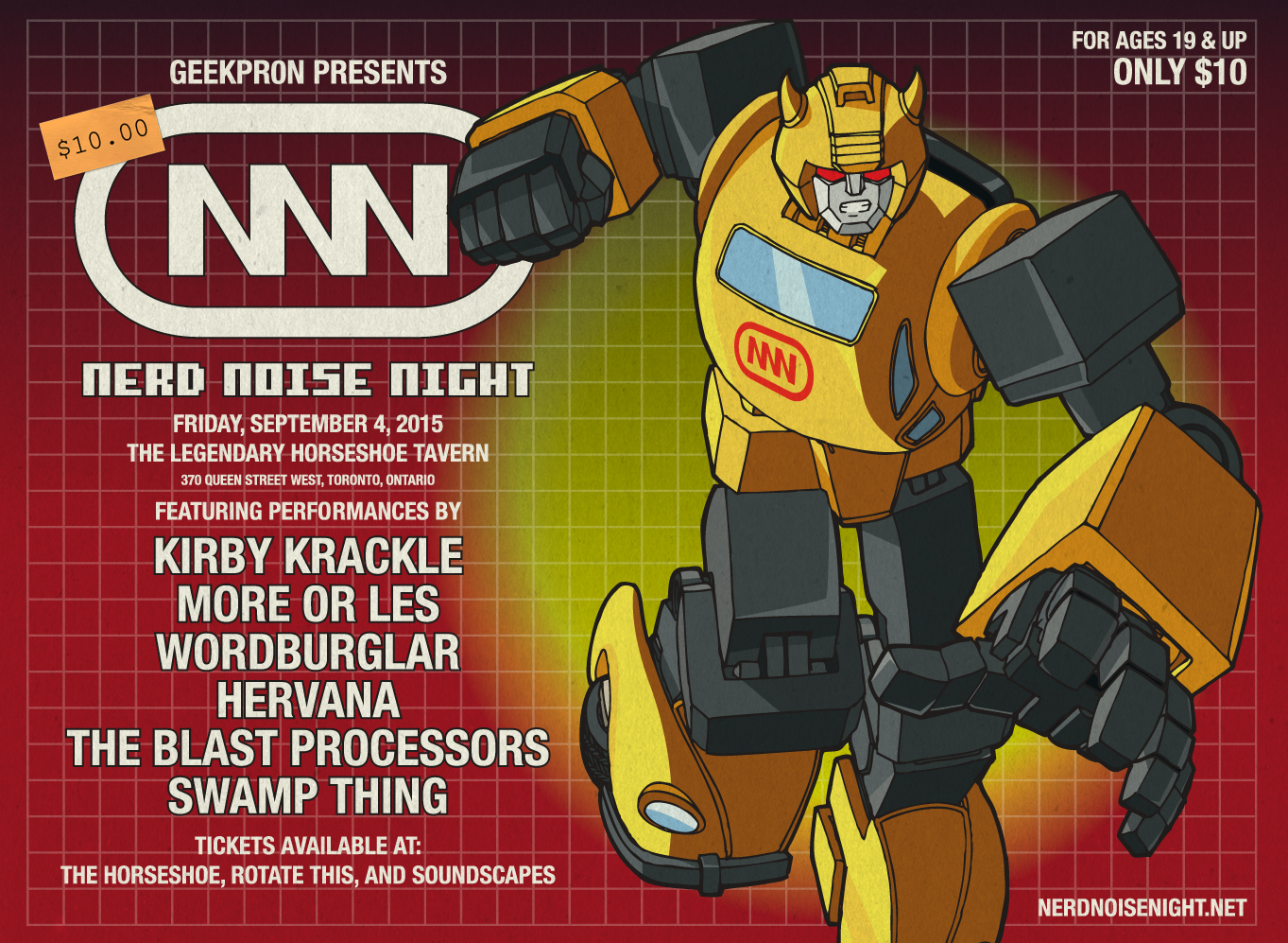 NERD NOISE NIGHT 2014